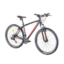 "Horský bicykel DHS Teranna 2723 27,5"" - model 2019 - Black"