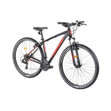"Horský bicykel DHS Teranna 2923 29"" - model 2019 - Black"