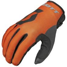 Motokrosové rukavice Scott 350 Track MXVI - modro-oranžová 7726361b75