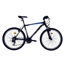 "Horský bicykel DHS Terrana 2623 26"" - model 2016 - Black-Blue"