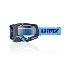 Motokrosové okuliare iMX Dust Graphic - Blue-Black Matt