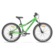 "Juniorský horský bicykel Galaxy Pavo 24"" - model 2019 - zelená"