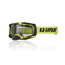 Motokrosové okuliare iMX Dust Graphic - Fluo Yellow-Black Matt