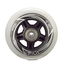 Inline kolieska FILA 80 mm/82A s ložiskami ABEC 5, spacer 6 mm 8ks