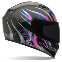 Moto prilba BELL Qualifier Coalition Black/Pink