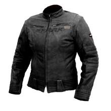 Dámska kožená moto bunda SPARK Betty - čierna ad32853a62e