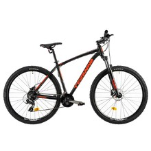"Horský bicykel DHS Teranna 2927 29"" - model 2019 - Black"