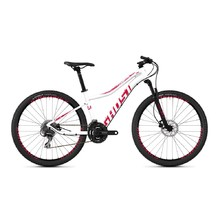 "Dámsky horský bicykel Ghost Lanao 2.7 AL W 27,5"" - model 2019 - Star White / Ruby Pink"