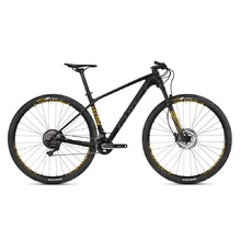 "Horský bicykel Ghost Lector 2.9 LC U 29"" - model 2019 - Night Black / Titanium Grey / Spectra Yellow"