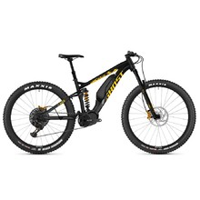 "Celoodpružený elektrobicykel Ghost Hybride SL AMR S3.7+ AL 29"" - model 2019 - Night Black / Spectra Yellow / Iridium Silver"