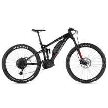 "Celoodpružený elektrobicykel Ghost Hybride SL AMR X S3.7+ AL 29"" - model 2019 - Night Black / Iridium Silver / Riot Red"