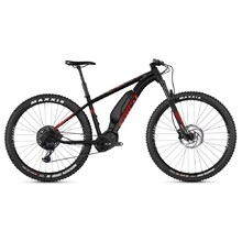 "Horský elektrobicykel Ghost Kato X S8.7+ 29"" - model 2019 - Night Black / Riot Red / Iridium Silver"
