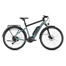 "Trekingový elektrobicykel Ghost Square Trekking B1.8 28"" - model 2019 - River Blue / Jet Black"