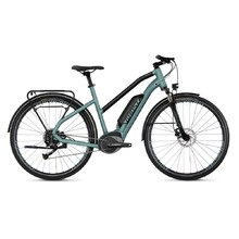 "Dámsky trekingový elektrobicykel Ghost Square Trekking B1.8 Ladies 28"" - model 2019 - River Blue / Jet Black"