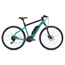 "Crossový elektrobicykel Ghost Square Cross B1.8 28"" - model 2019 - Electric Blue / Jet Black"