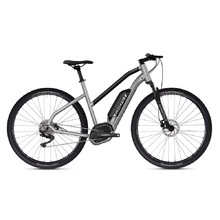 "Dámsky crossový elektrobicykel Ghost Hybride Square Cross B2.9 Ladies 29"" - model 2019 - Iridium Silver / Jet Black"