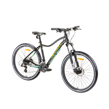 "Dámsky horský bicykel Devron Riddle Lady 1.9 29"" - model 2019 - Black"