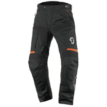 Moto nohavice SCOTT Dualraid DP - Black-Orange