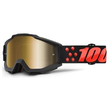 Motokrosové okuliare 100% Accuri - Gernica čierna 9b8150f5359
