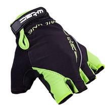 3d9b16fc731 Cyklo rukavice W-TEC Kauzality AMC-1043-18 - čierno-zelená