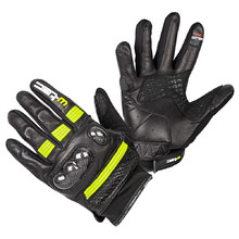 Moto rukavice W-TEC Rushin - Black-Fluo Yellow