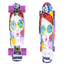 Pennyboard ArtFish Face 22""