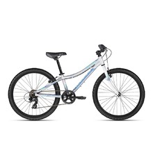 "Juniorský bicykel KELLYS KITER 30 24"" - model 2018 - Silver"