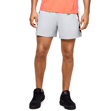 Pánske kraťasy Under Armour Launch SW 5'' Short - Halo Gray