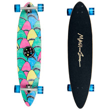 Longboard Maui SHARK WARNING 39""