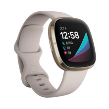 Inteligentné hodinky Fitbit Sense White/Soft Gold Stainless Steel