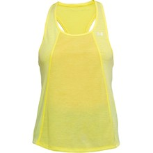 Dámske tielko Under Armour Threadborne Fashion Tank - Tokyo Lemon Full Heather