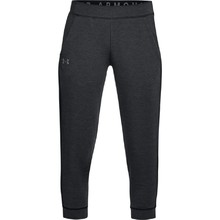 Dámske legíny Under Armour Featherweight Fleece Crop - Black