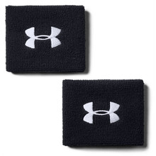 Potítka na zápästie Under Armour Performance Wristbands - Black
