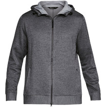 Pánska mikina Under Armour Sportstyle Sweater Fleece FZ - CARBON HEATHER / STEEL