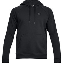 Pánska mikina Under Armour Rival Fleece PO Hoodie - Black/Black