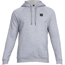 Pánska mikina Under Armour Rival Fleece PO Hoodie - Steel Light Heather/Black
