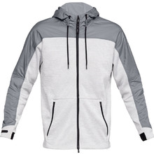 Pánska mikina Under Armour Unstoppable Coldgear Swacket - Steel /  / Steel