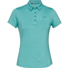 Dámske tričko s golierikom Under Armour Zinger Short Sleeve Polo - Dust