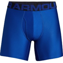 Pánske boxerky Under Armour Tech 6in 2 Pack - Royal