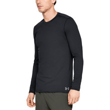 Pánske tričko Under Armour Fitted CG Crew - Black