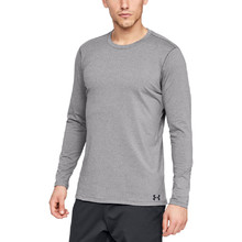 Pánske tričko Under Armour Fitted CG Crew - Charcoal Light Heather