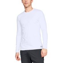 Pánske tričko Under Armour Fitted CG Crew - White