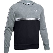 Chlapčenská mikina Under Armour SportStyle Fleece Hoodie - Wire Light Heather