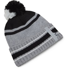 Pánska čiapka Under Armour Men's Pom Beanie - Halo Gray