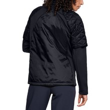 Dámska prešívaná bunda Under Armour CG Reactor Golf Hybrid Jacket - Black