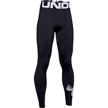 Chlapčenské legíny Under Armour ColdGear Armour Leggings - Black