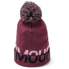 Dámska čiapka Under Armour Graphic Pom Beanie - Level Purple