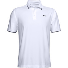 Pánske tričko Under Armour Playoff Pique Polo - White