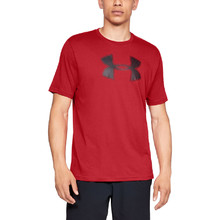 Pánske tričko Under Armour Big Logo SS - Red