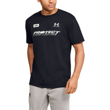 Pánske tričko Under Armour PTH Back SS - Black